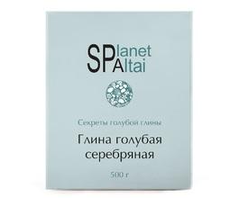 Planet SPA Altai Голубая глина Серебряная, 500 г