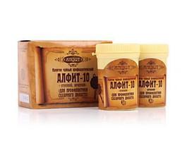 Фитосбор Алфит-10 против сахарного диабета