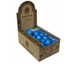 Кедровый грильяж с черникой в шоколадной глазури