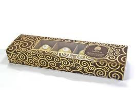 Кедровый грильяж с клюквой в шоколадной глазури, 90 гр.