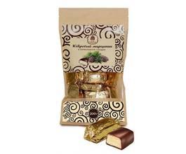 Кедровый марципан в шоколадной глазури, 200 гр.