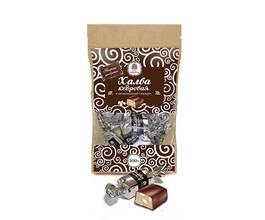 Халва кедровая с кешью в шоколаде, 200 гр.