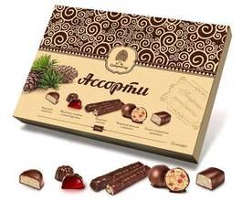 Ассорти в шоколадной глазури