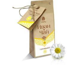 Напиток чайный «Иван чай» с ромашкой (крафт-пакет)