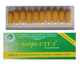 Андро-VITA свечи