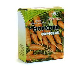 Семена моркови, 40 гр.