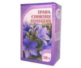 Синюха голубая, трава, 50 гр.