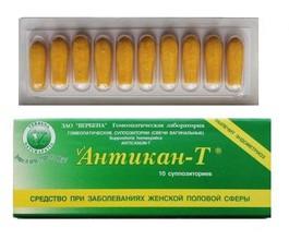 Антикан-Т свечи (вылечит эндометриоз)