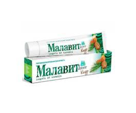 Малавит-дент Зубная паста Кедр-можжевельник, 70 гр.