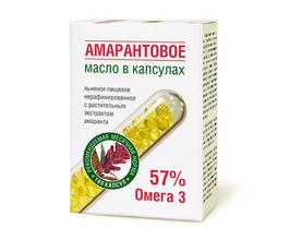 """""""Компас Здоровья"""" Масло амарантовое в капсулах"""