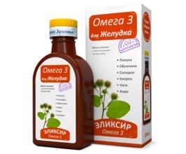 Масло льняное Омега-3 Для желудка, 200 мл.