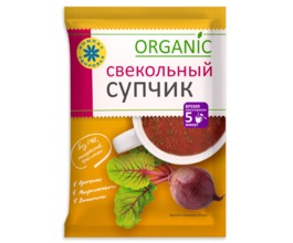 Суп пюре Свекольный, (10 пак. по 30 гр.)