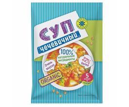 Суп пюре Чечевичный, (10 пак. по 30 гр.)