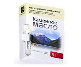 Каменное масло При возрастных изменениях с витаминами Д3, В12, В9, калием, кальцием, 3 гр.